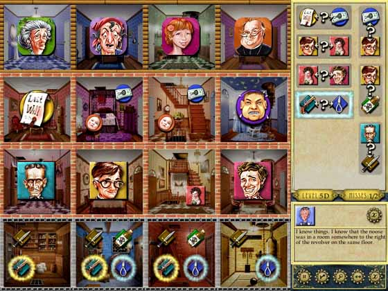 Inspector Parker Logic Game Solve A Mystery In This Classic Whodunit